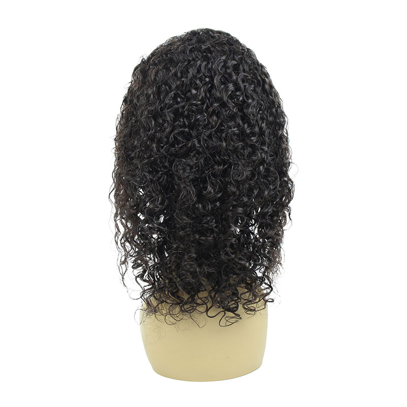 13*4 Brazilian Curly Human Hair Wig Pre Plucked 150% Density Front Lace Wigs