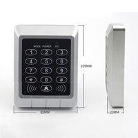 AD M21 suporte do teclado de controle acesso 4000 usuários 125 khz id card reader fechadura da porta senha digital elétrica   -