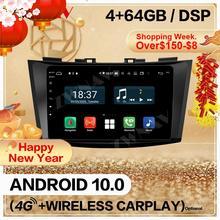 128GB Carplay 2 Din For Suzuki Swift 2013 2014 2015 2016 Android 10 Screen Multimedia Player Audio Radio GPS Navi Head Unit Auto