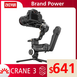 ZHIYUN Camcorder-Video-Cameras Handheld Stabilizer 3-Axis gimbal Canon Official for Nikon