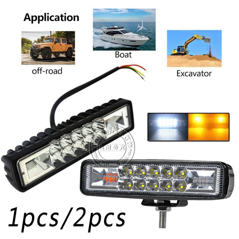 Автомобильный светодиодный головной светильник s 12-24V Светодиодная лампа для мотоцикла Грузовик Лодка тракторный прицеп внедорожные лампы-...