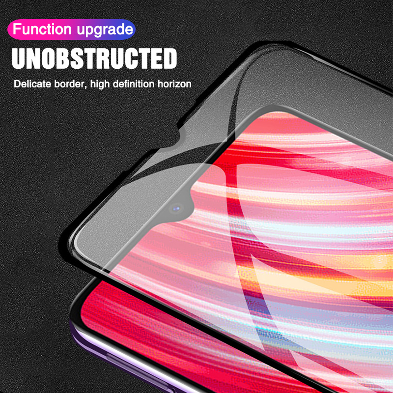 Image 4 - Protective Glass For Xiaomi Redmi note 8 7 6 5 K20 Pro mi 9t Tempered Screen Protector Glass on Redmi note 8 pro 7 6 5 k20 Film-in Phone Screen Protectors from Cellphones & Telecommunications