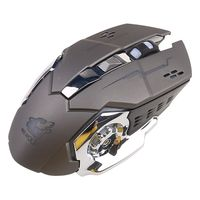 Gaming Muis Oplaadbare X8 Draadloze Stille Led Backlit Usb Ergonomische Muis B36A