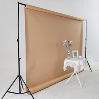 Photo Studio 2.6*3m Background Frame Backdrop Support Metal Adjustable Stand with Carry Bag Not include Background Screen