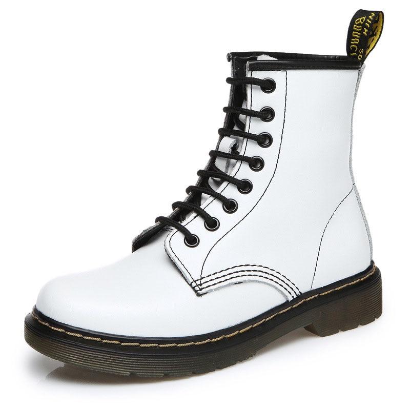 2020 ботинки; женская обувь из натуральной кожи; зимние ботинки; Женская Повседневная весенняя обувь из натуральной кожи; Botas Mujer; женские боти...