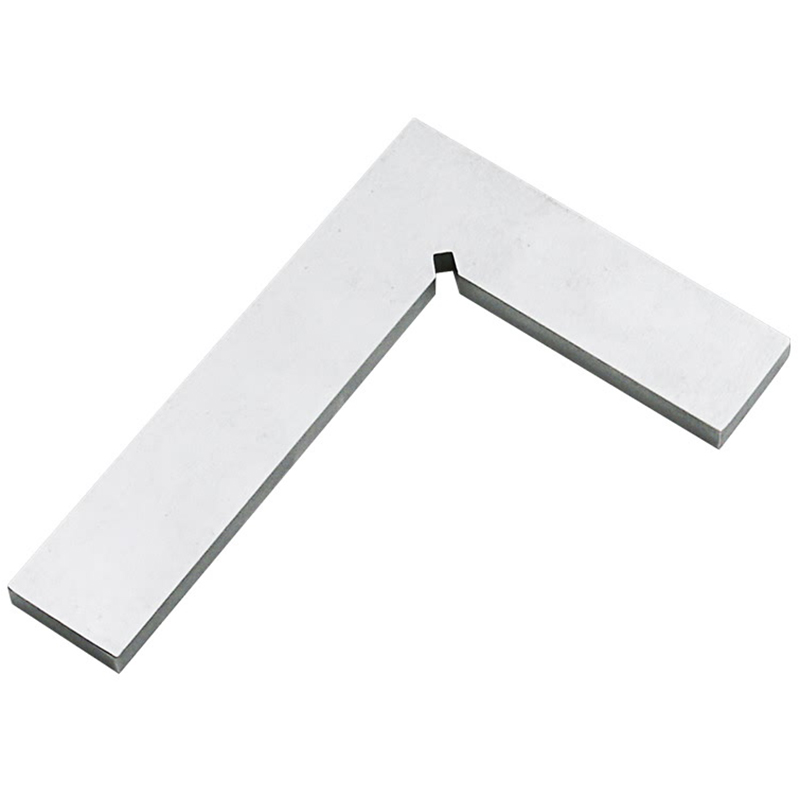 Silver Metal Steel 100 X 63Mm L Square Ruler Trial Square Ruler|Calipers| |  - title=