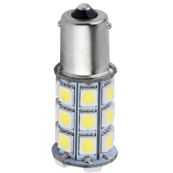 1 Piece Universal 1156 S25 27SMD 5050 Super Bright LED Turn Tail Brake Stop Signal Light Lamp Bulb 12V image