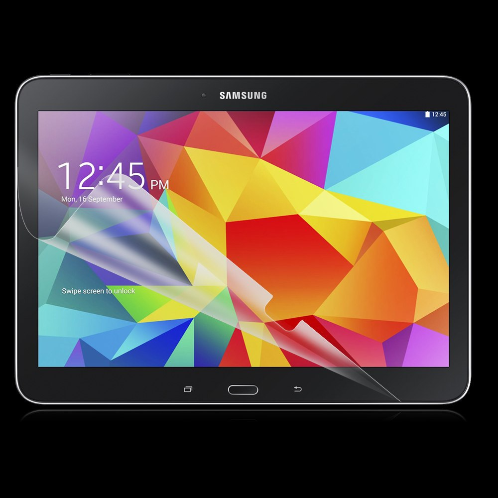 Clear Glossy Screen Protector Protective Film For Samsung Galaxy Tab 4 Tab4 10.1 T530 T531 T535 SM-T530 Tablet