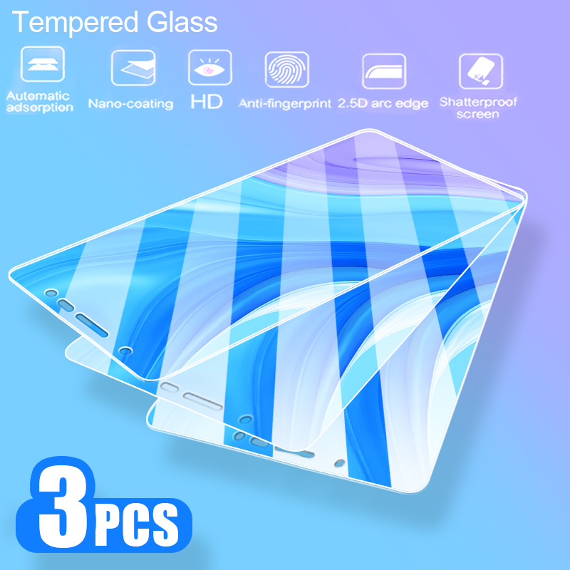 3Pcs Protective Glass For Samsung Galaxy A6 A7 A8 Plus A9 2018 Screen Protector 2.5D Tempered Glass For Samsung J6 J4 Plus A10