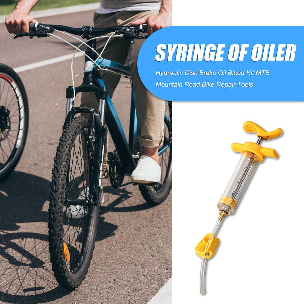 Bicycle Hydraulic Disc Brake Oil Bleed Kit MTB Repair Tools for Mountain Bike UK