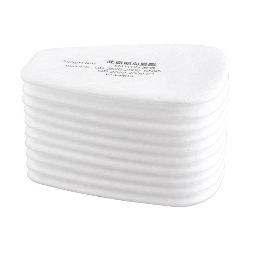 10 шт 5N11 N95 фильтр хлопковый фильтр 501 Сменный фильтр для 6200/7502/6800/Пылезащитная маска химическая защита