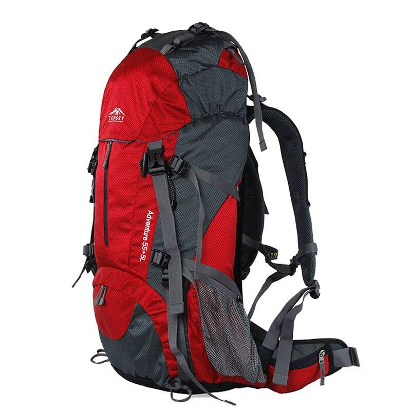 Sac à dos 40L 50L 60L sac de voyage extérieur sac d'alpinisme ultra léger étanche sac à dos d'alpinisme escalade randonnée c - 5