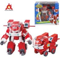 Super Wings – costume de Robot Jett & Donnie 3 en 1, déformation de robot, véhicule, avion, figurines d'action, jouets de transformation pour enfants
