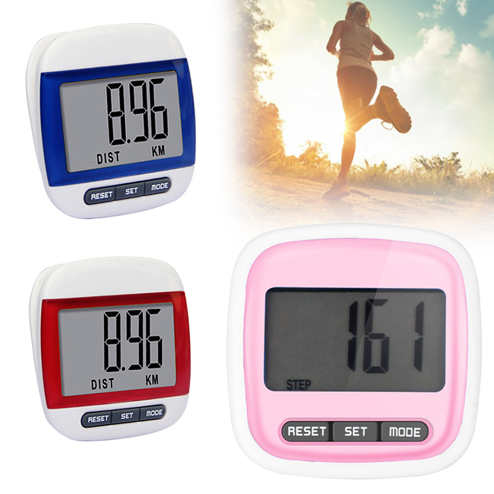 Electronic PedometerMeasurement Electronic Watch Sport Accessories Motion Distance Meter Run Step Watch Digital LCD