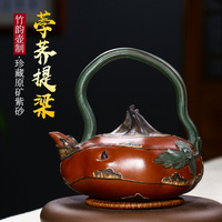 Água castanha bule  bule de chá  casa conjunto de chá  pessoa famosa  changyuehong autêntico