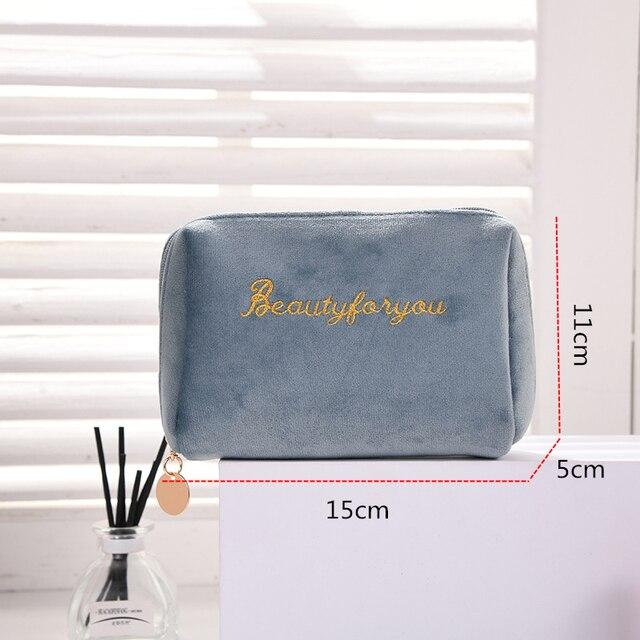 Купить бархатный органайзер для макияжа doozeepa мягкая сумка помады картинки