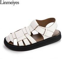 Merk Flats Sandalen Vrouwen Zwart Wit Platform Schoenen Zomer Casual Schoenen Sandalen Strand Slides Schoenen Vrouwelijke