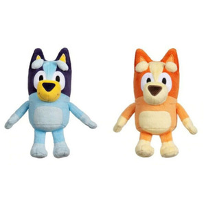The 2Rd BLUEY BINGO JUMBO Dog Friends ABC TV Plush Toy Soft Movie Christmas Figure Toy Plush Collectible Gift Stuffed Animals()