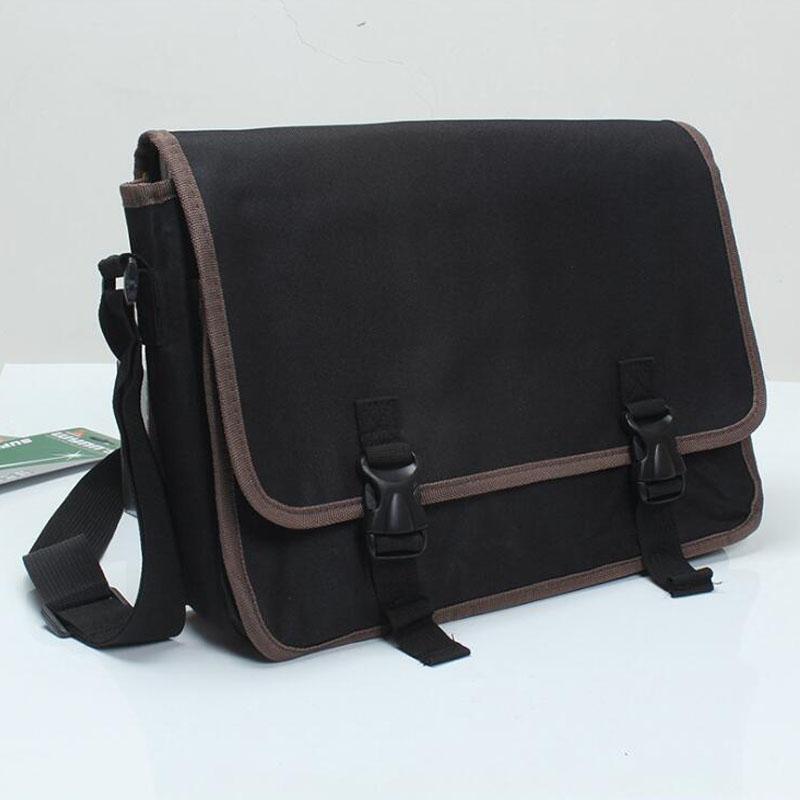 Portable Satchel Belt Kit Multifunction Kit Storage Bag Hardware Electrician Repair Kit Storage Box Double Canvas Bag Tool Bag