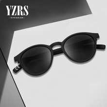 YZRS Brand Vintage Round Sunglasses Men Women Driver Shades UV400 Sun Glasses Female Cateye Eyewar Polarized