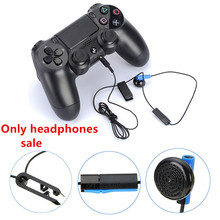 Gamepad Headset With Microphone Earpiece For PS4 Controller Earphones Earbuds Game Accessories ecouteur filaire