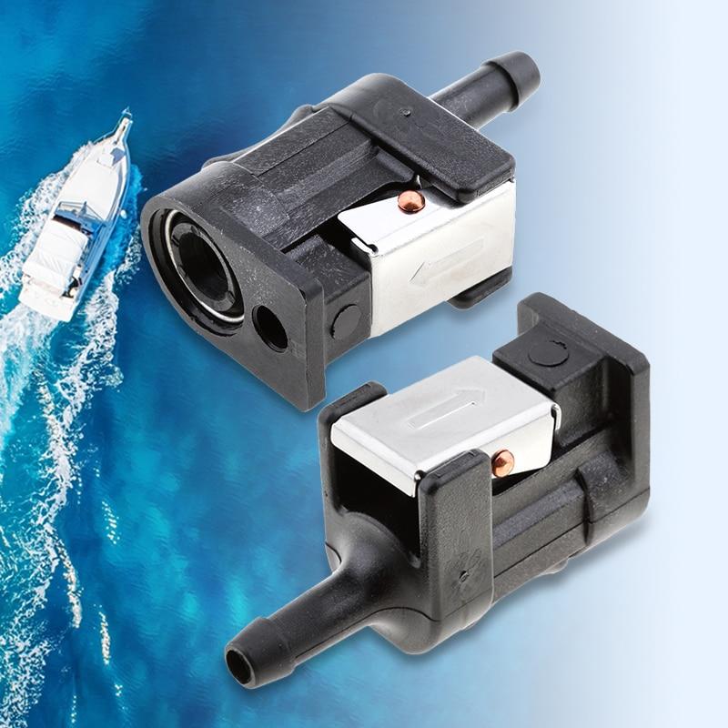 6mm 5/16 'adattatore per raccordi per tubi flessibili del tubo flessibile del carburante per motore fuoribordo Yamaha