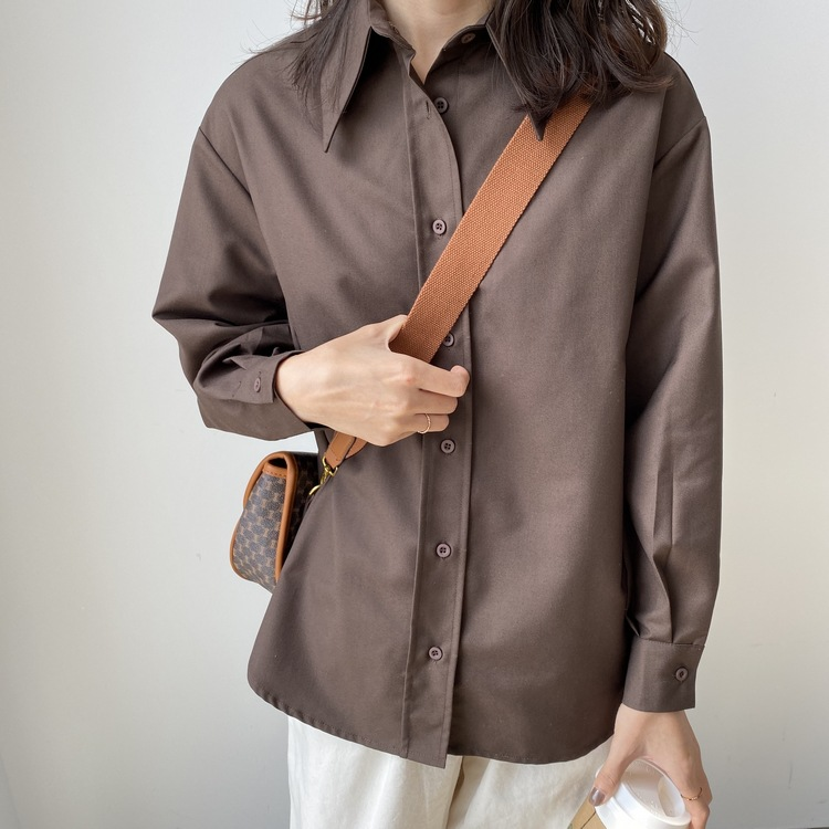 2019 Women Spring Blouse Long Sleeve Boyfriend Style Womens Tops And Blouses Vintage Women Shirts Blusas Roupa Feminina Tops
