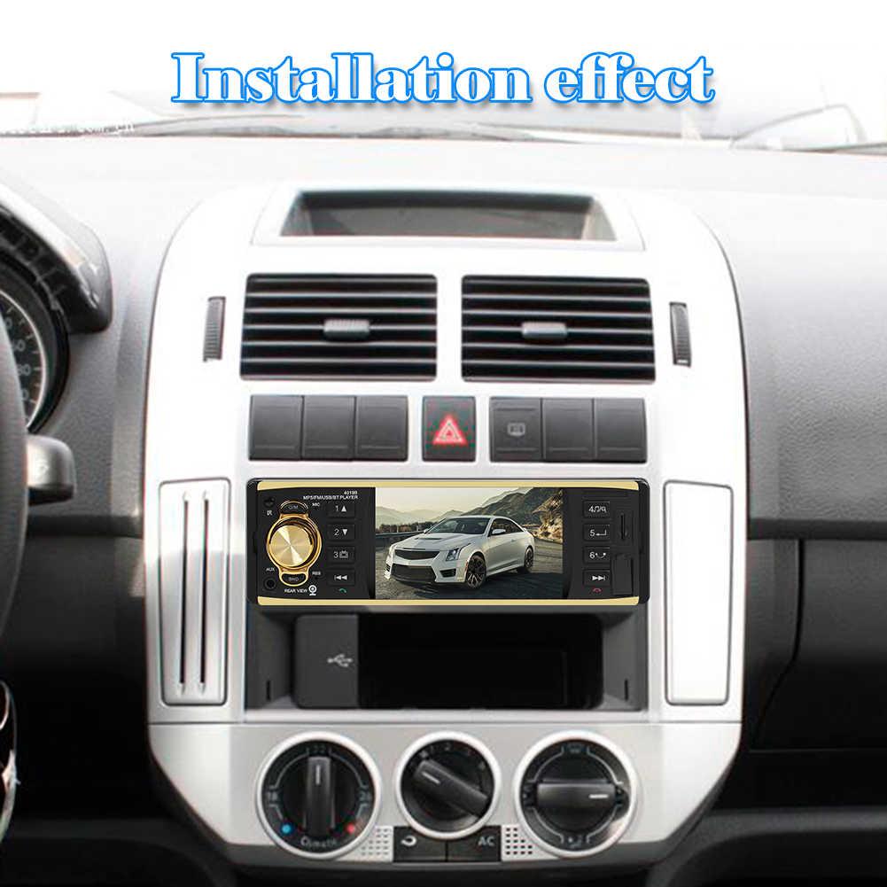 "VODOOL 4019B 1din Bluetooth Mobil Radio Autoradio Stereo MP5 Player 4.1 ""AUX USB FM Kamera Cadangan Auto Audio Mobil pemain Multimedia"