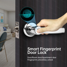 Towode Smart Home Fingerprint Türschloss Sicherheit Empfindliche Biometrische USB Anti-Theft Key Entsperren Mit Home Office Schlafzimmer Hotels