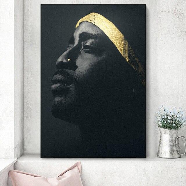 West Coast Hip Hop Tupac Music Poster 10