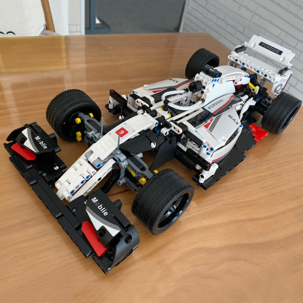 Creator Expert High-tech City super Champions Racing Formula Car 1235 PCS RSR 488 GTE Moc Modular Bricks Model Building Blocks
