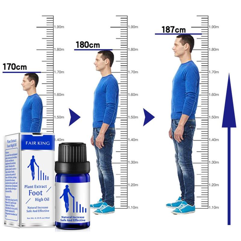 10 ML Height Increasing Oil Body Grow Taller  Foot Massage Essential Oil Foot Health Care Products Promot Bone Growth