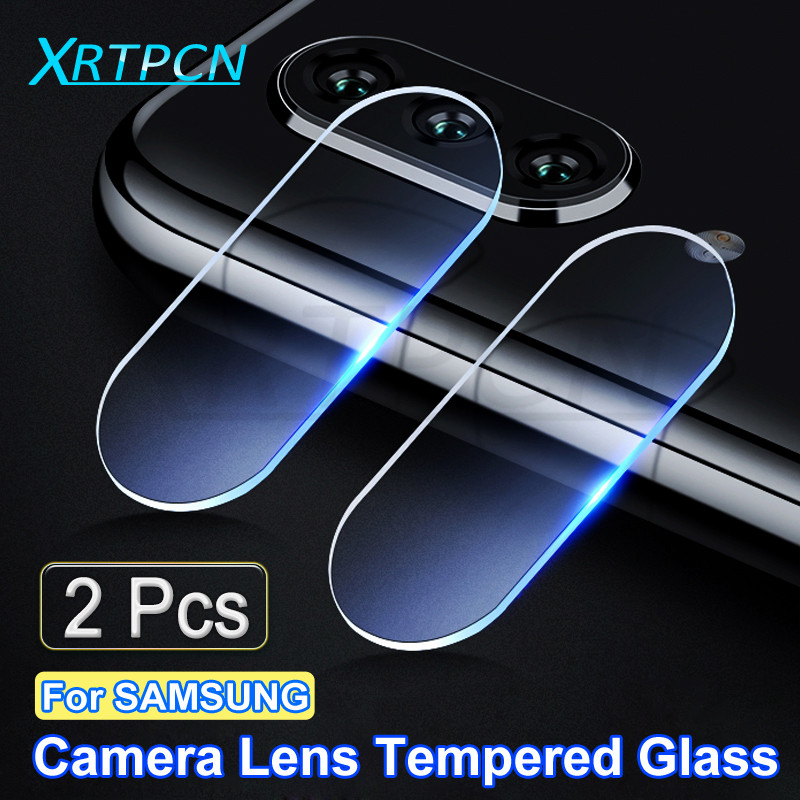 2Pcs Camera Lens Protector For Samsung Galaxy A10 A20 A30 A40 A50 A60 A70 A80 A90 M10 M20 M30 M40 Tempered Glass Film Case