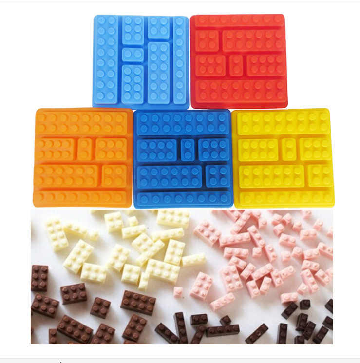 2 Styles Rectangular Blocks Of Ice The Size Of The Building Blocks Of Ice Creative Blocks Silicone Ice Mold