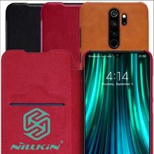 Nillkin Qin Book Flip Leather Case Cover For Xiaomi Redmi Note 8 Pro 8T