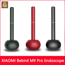 Youpin Bebird M9 Pro akıllı görsel kulak yapışmaz endoskop 300W yüksek hassasiyetli kulak endoskop ile 300mAh manyetik şarj tabanı