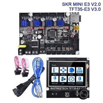 BIGTREETECH SKR MINI E3 V2.0 Control Board TFT35-E3 V3.0 Screen Upgrade Kit For ender 3 5 3D Printer Parts TMC2209 SKR V1.3 CR10