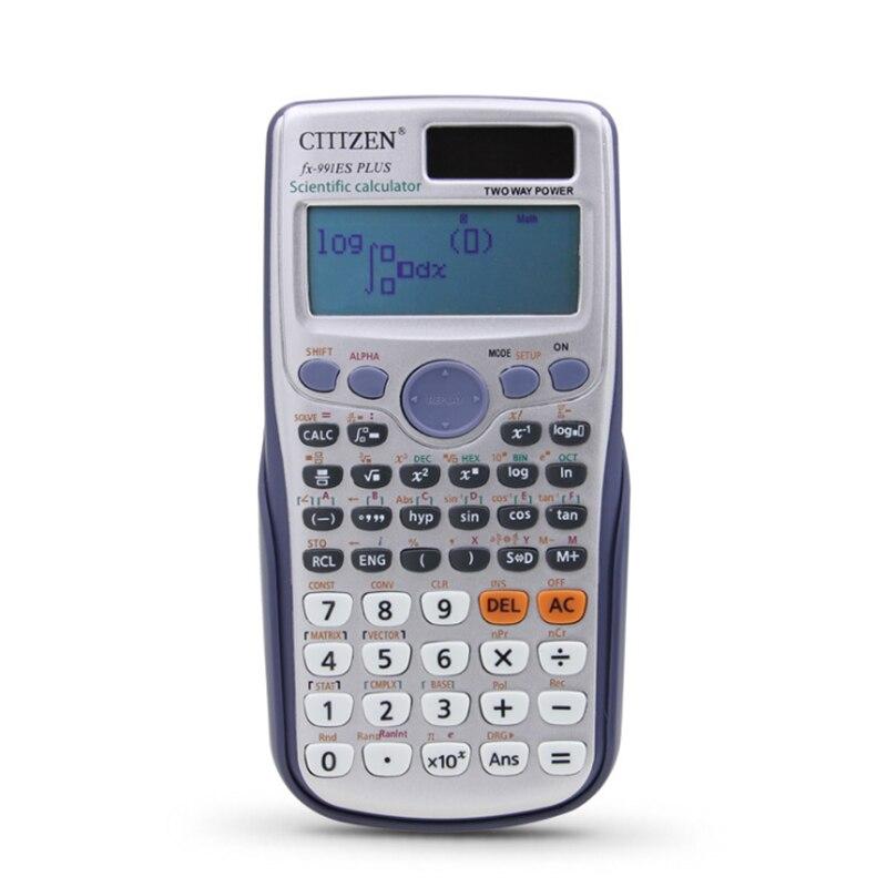 Bilgisayar ve Ofis'ten Hesap Makineleri'de FX 991ES artı matris karmaşık çözüm sistemi denklemleri yüksek okul koleji öğrenci fonksiyonlu bilgisayar bilim hesap makinesi title=