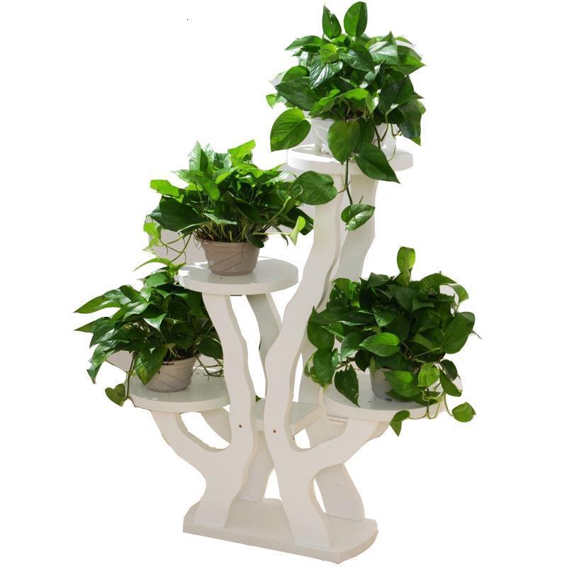 Decorativa Madera Scaffale Porta Piante For Indoor Terraza Balcony Shelf Plant Rack Dekoration Stojak Na Kwiaty Flower Stand