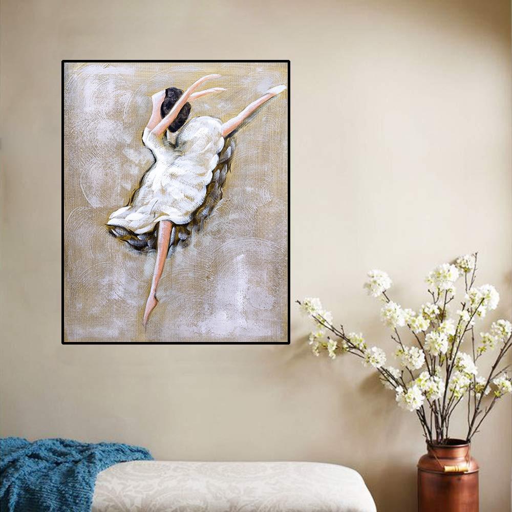 Custom Mural dancer wall art Estimate for  Ballerina Dancer wall murals Swan Lake Painting