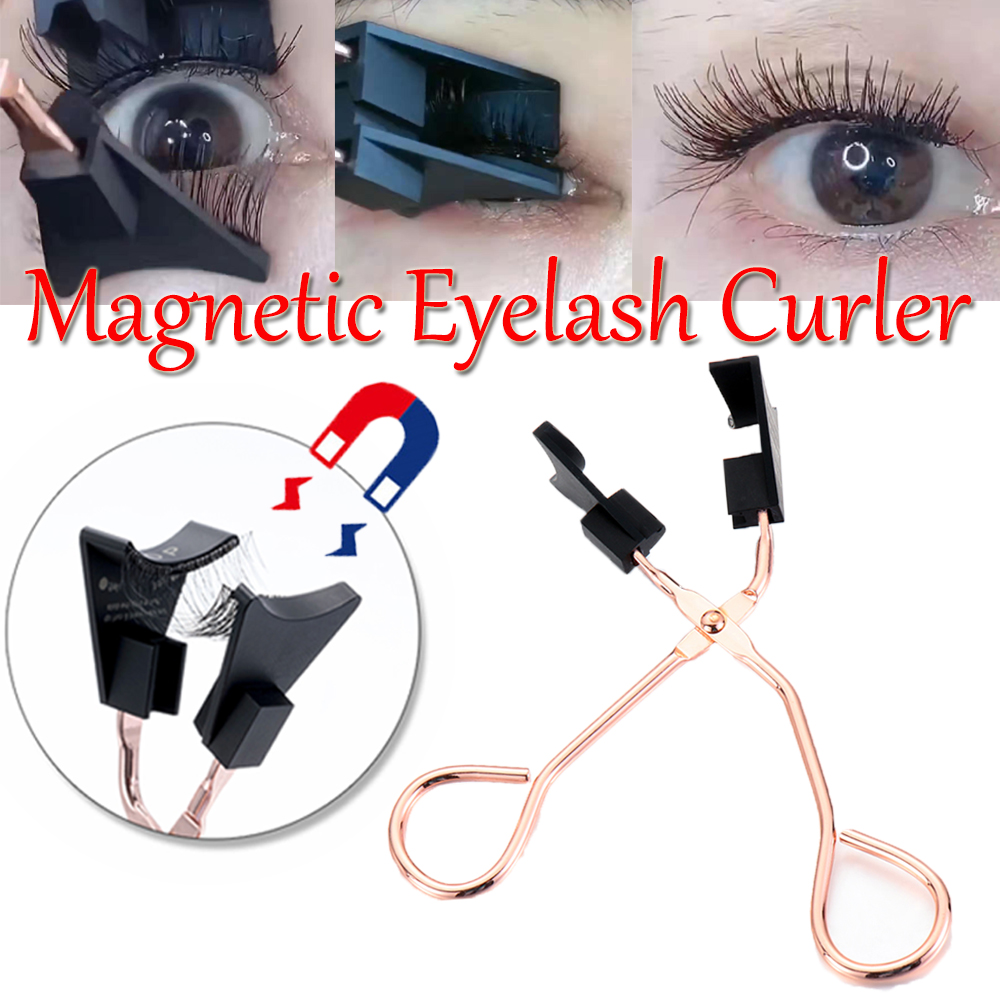 NEW !!! Magnetic Eyelash Curler Only 2 Seconds to Wear Quantum Soft Magnetic False Eyelashes Magnetic Lashes|Eyelash Curler|   - AliExpress