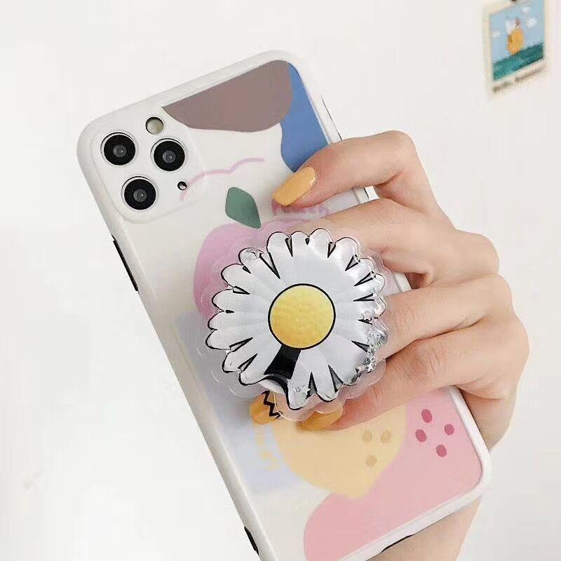 Cute Cartoon Finger Ring Grip Bracket Universal Hand Phone Holder for iphone huawei Air Bag Cellphone Bracket Stand Socket