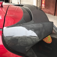 Carbon fiber /ABS Resin Spoiler For Mazda 3 AXELA Hatchback 2014 2017 High quality Rear Wing Spoilers Auto Accessories