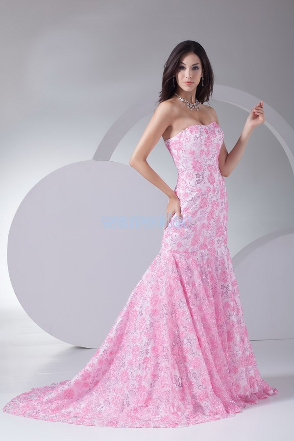 Free Shipping New Fashion 2018 Lace Gown Vestido Formal Dinner Pink Ball Vestidos Long Homecoming Mother Of The Bride Dresses