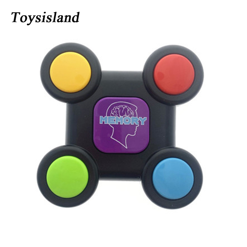 Buzzer Toy  Plastic Educational Creativity Memory Game Toy With Lights And Sounds Quiz Game For Children
