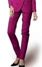 New Arrival Casual Cotton Female Suit Pants Slim Fit Zipper Tretchable Pant Chinos Trousers Pantalones Deporte Design Work Wear