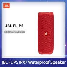 JBL Flip 5 Bluetooth hoparlör Mini taşınabilir IPX7 su geçirmez kablosuz açık Stereo bas müzik USB şarj çoklu destek