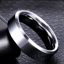 Men Black Ring Titanium Stainless Lover Couple Rings For Women Silver Gold Vintage Cool Rings 316L High Quality Jewelry(China)