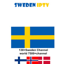 Suède IPTV abonnement norvège Europe du nord iptv abonnement HD live android tv box m3u smart tv box(China)
