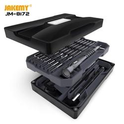 Juego de destornillador magnético de precisión JAKEMY Torx Bits controlador de tornillo para iPhone ordenador portátil teléfono móvil reloj herramientas de reparación